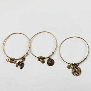 AlexandAni Gold Tone Womens Bracelet Bundle E3590